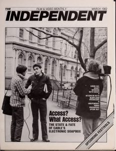 Independent Film and Video Monthly, Volume 5 Cover