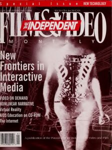 Independent Film and Video Monthly, Volume 17 Cover