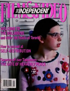 Independent Film and Video Monthly, Volume 19 Cover