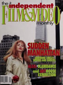 Independent Film and Video Monthly, Volume 20 Cover
