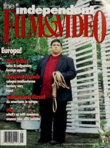 Independent Film and Video Monthly, Volume 21 Cover
