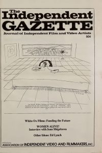 Independent Gazette, Vol 1 Cover