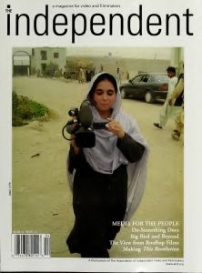 Independent Film and Video Monthly, Volume 28 Cover