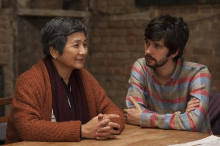 LILTING - Pei-pei Cheng (L) and Ben Whishaw (R)