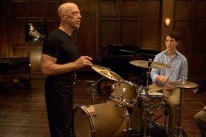 \J.K. Simmons on left, Miles Teller on right.