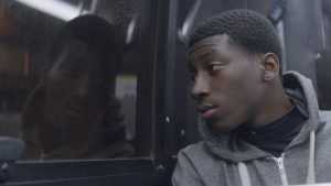 In Stop, a young man's future is put to the test when he is stopped by the police on his way home. Courtesy Sundance Institute.