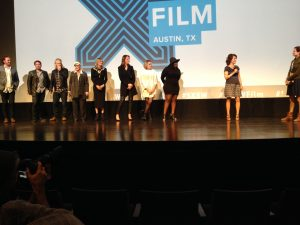 Director Katie Cokinos takes questions about her film <i>I Dream Too Much</i> at SXSW.