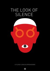 Movie poster for The Look of Silence. Courtesy Joshua Oppenheimer.
