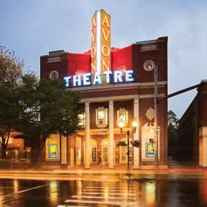 The Avon Theatre in Stamford, CT frequently hosts post-film discussions with directors and actors.