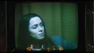 Rebecca Hall as Christine Chubbock in Christine, a real-life character also portrayed in Kate Plays Christine (courtesy Sundance Film Festival).