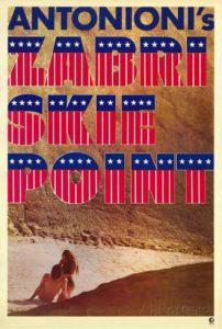"Poster for ""Zabriskie Point"" (1970)"