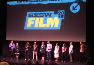 Cast and crew from Best and Most Beautiful during a Q&A at the 2016 SXSW Film Festival