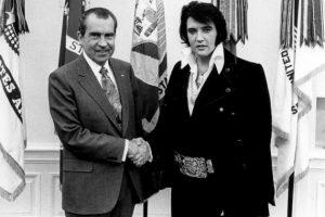 President Nixon and Elvis Presley