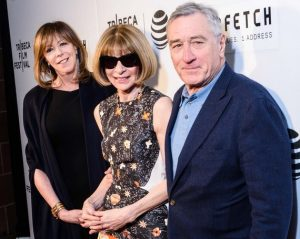Jane Rosenthal, Anna Wintour and Robert DeNiro at the 15th Annual Tribeca Film Festival