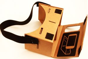 Google Cardboard is one of the many tools producers are using for enhancing the VR experience Credit: elecfreaks.com