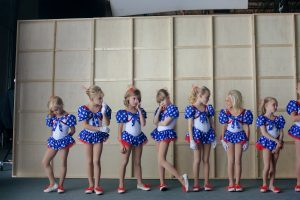 Girls line up to audition in Kitty Green's documentary Casting JonBenet.