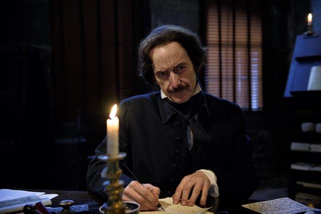Denis O'Hare in Eric Stange's documentary Edgar Allan Poe: Buried Alive.