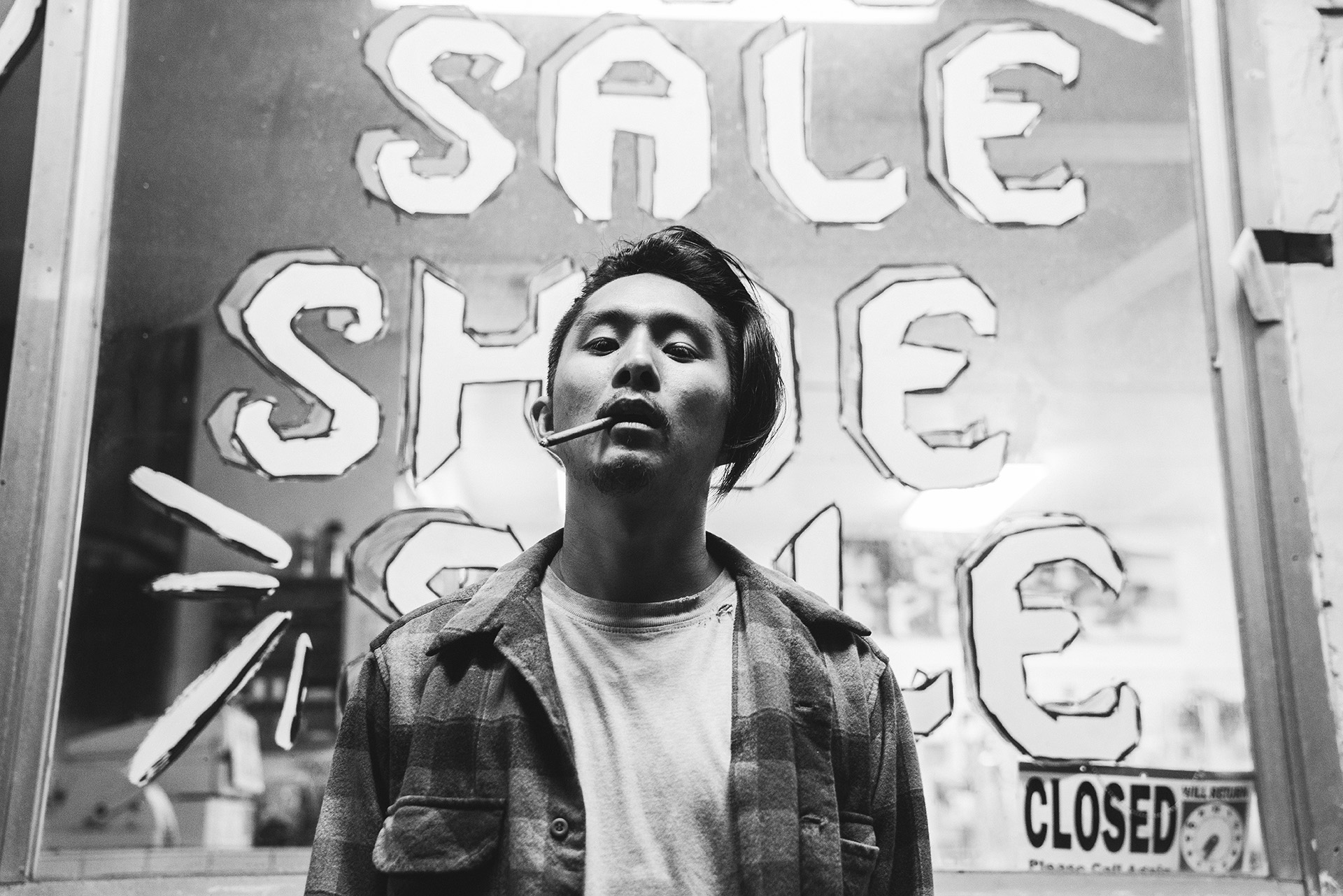 Justin Chon in Gook, his narrative film inspired by the 1992 Los Angeles riots.