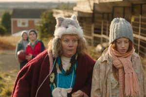 Lyn (Joanna Scanlon) and Iona (Lily Newmark) struggle to fit in during Pin Cushion.