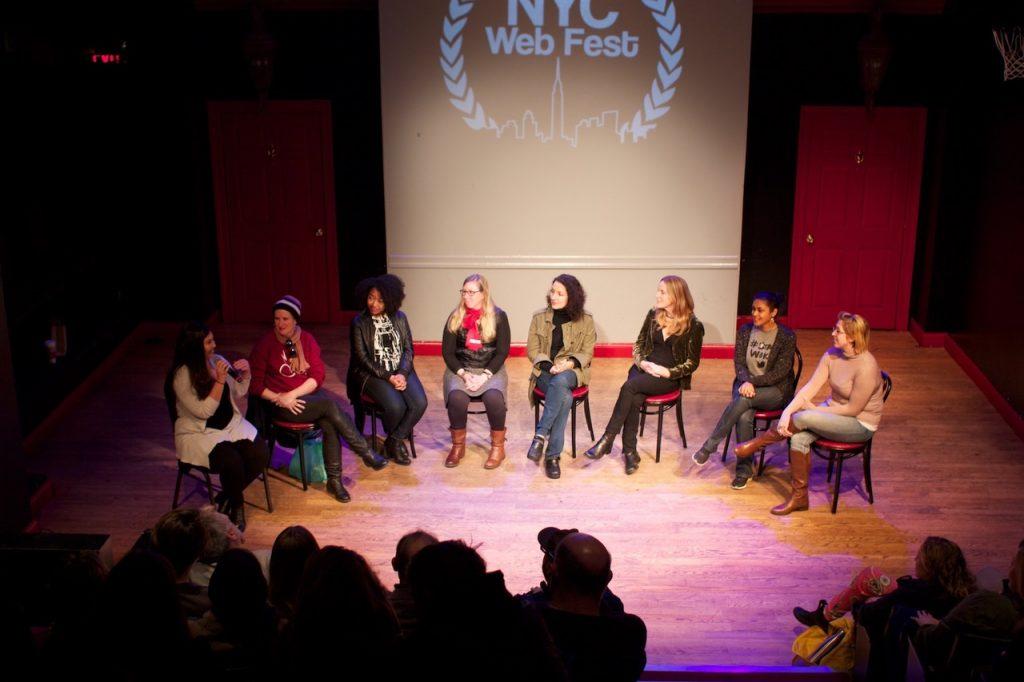 NYC Web Fest panel