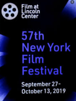 The logo for the 57th annual New York Film Festival