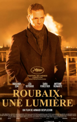 French poster for Oh Mercy! (Roubaix, Une Lumiere) with Roschdy Zem