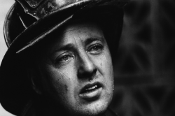 NYC firefighter (photo by Jill Freedman)
