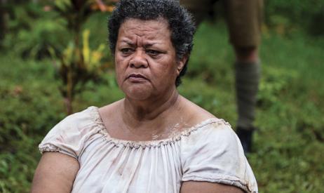Older Samoan woman