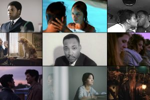 grid of scenes from films at the 58th Annual New York Film Festival