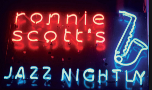 Ronnie Scott marquee