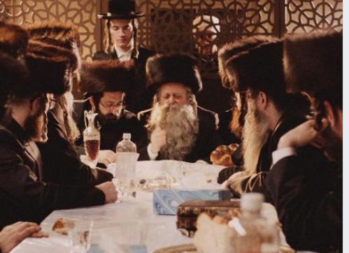 Jewish table scene