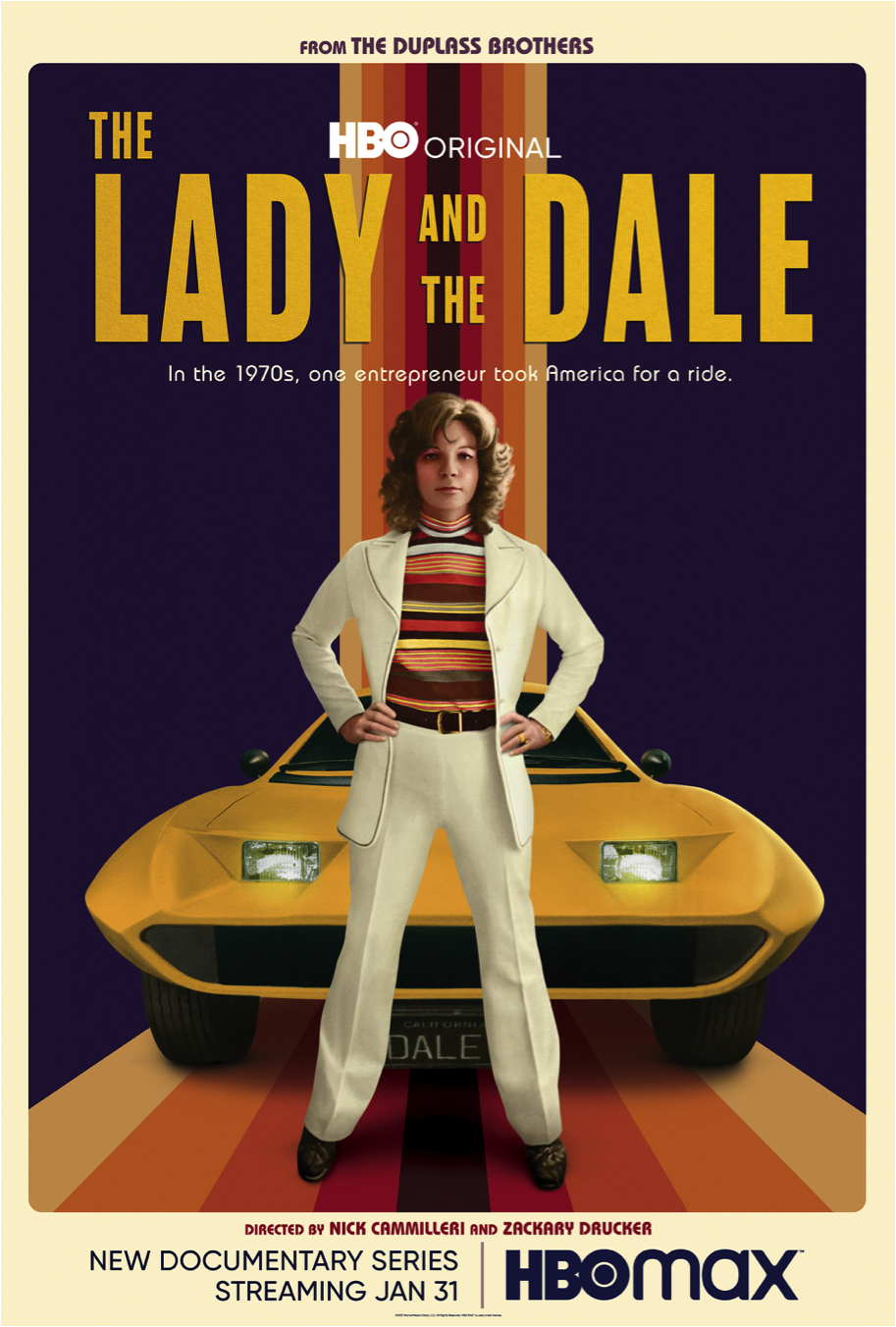 Poster for HBO series The Lady and the Dale