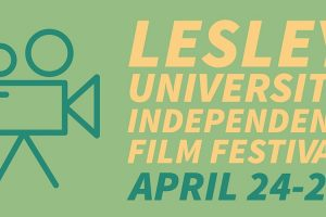 Lesley University Independent Film Fest Logo