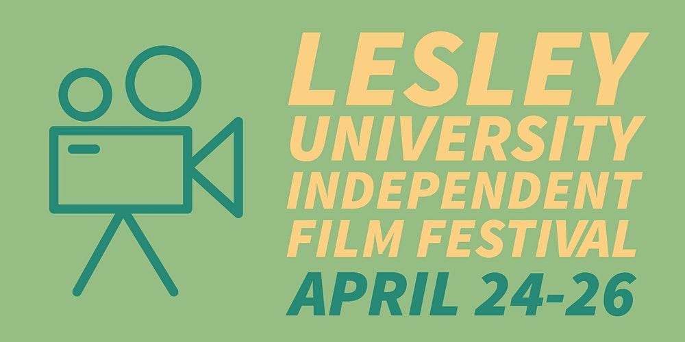 Lesley University Independent Film Fest Logo