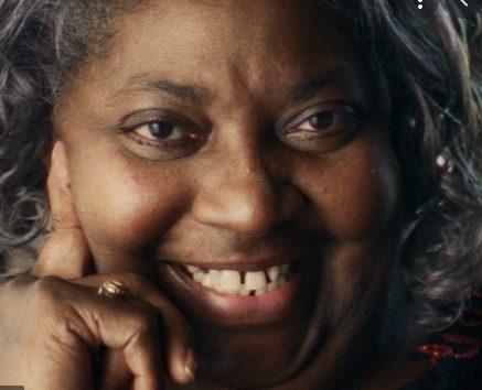 Portrait photo of Lucinda Harris. Present day.
