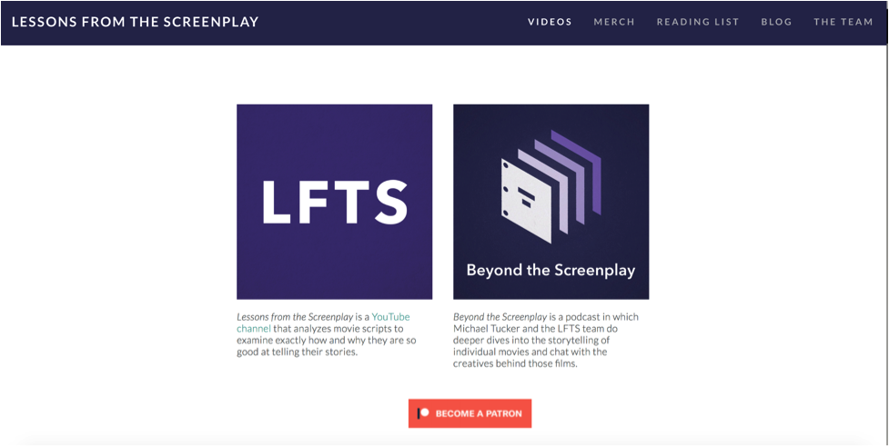 LFTS also has a stand-alone website.